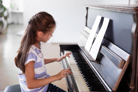 Engage in your child's regular piano lessons