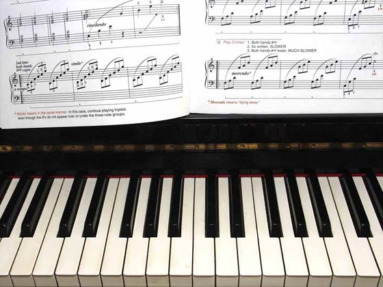 Sight reading tips for piano music