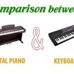 Comparison between Digital Piano and Keyboard