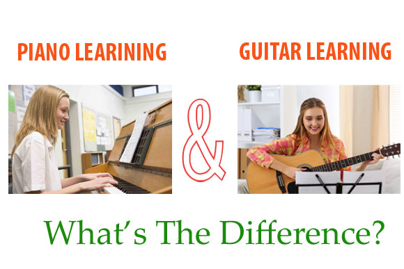 Piano and Guitar Learning: What's The Difference?