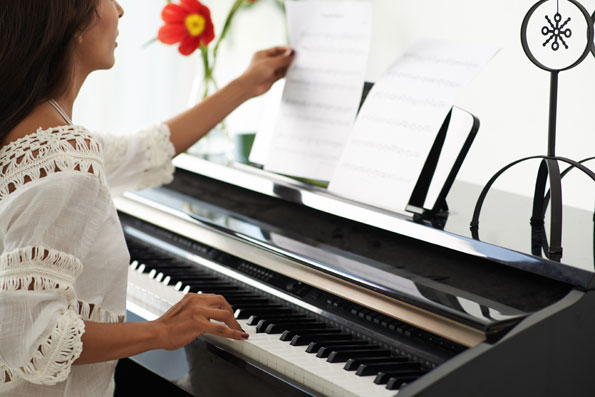 Tricks for Relaxing Yourself at Piano